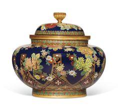 Tablet Mount, Korean Art, Japanese Beauty, Kyoto, 19th Century, Objects, Enamels, Period, Workshop