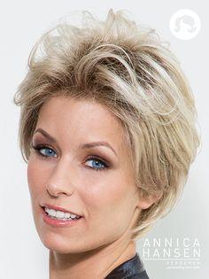 Glam Look #pruiken #wigs #peruca #annicahansen