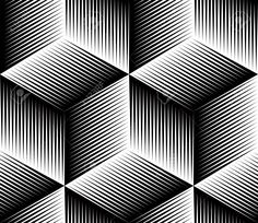 Black and white illusive abstract geometric seamless pattern Black And White Illusive Abstract Geometric Seamless Pattern .<br> Vector - Black and white illusive abstract geometric seamless pattern 3d Pattern, Nordic Pattern, Greek Pattern, Viking Pattern, Navajo Pattern, Thai Pattern, Hexagon Pattern, Triangle Pattern, Geometric Shapes Design