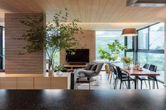 Inside an inspiring family home where plants haven't been forgotten by Mokkotsu - CAANdesign | Architecture and home design blog