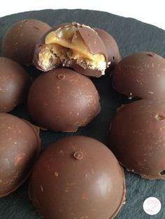 Dômes choco caramel Excellente recette !!! J'adore !!! Je m'en fais tout le temps !! C'est trop bon