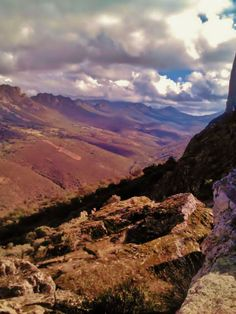 Relieve apalachense y Valle de Santa Lucía. Foto de Lidia Paz.