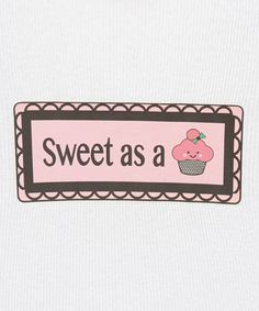 Take a look at this Pink Cupcake Decal by SuperKidDesigns on #zulily today!