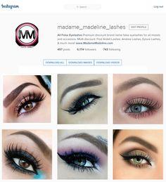 7a1da0172ed 71 Best Madame Madeline Lashes (All False Eyelashes) images in 2019 ...