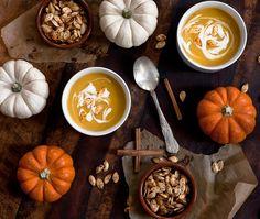 three little halves: Pumpkin Spice Is In The Air: Pumpkin Spice Soup + Bonus Surprise   Sunday, September 22, 2013