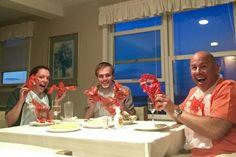 Lobstah Night with @CatFogarty @nymanmatt and @Bruce_HPC
