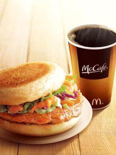 Chicken McMuffin & McCafe - #McDonald's China    #McDonalds