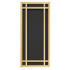 Screen Tight 36 in. x 80 in. Hampton Wood Unfinished Screen Door ...