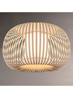 Buy John Lewis & Partners Harmony Ribbon Semi Flush Ceiling Light, Natural from our Ceiling Lighting range at John Lewis & Partners. Free Delivery on orders over Flush Ceiling Lights Uk, Ceiling Shades, Ceiling Lighting, Hall Lighting, Lamp Shades, Lighting Ideas, Lounge Lighting, Bedroom Lighting, Bedroom Ceiling