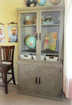 The Peacock Door: Kerri's Cabinet