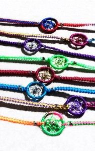 dreamcatcher bracelet | Dreamcatcher Bracelet (fuscia) | review | Kaboodle