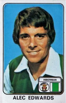 Alex Edwards of Hibernian in Hibernian Fc, Trading Card Database, Football Cards, 1970s, Scotland, Club, Stickers, Logo, Retro