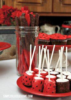 Ladybug party treats!