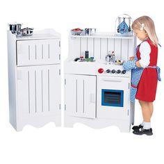 Classic Wood Play Kitchen ($135? eBay)