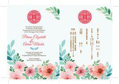 Chinese Wedding Invitation Card, Wedding Invitation Card Template, Wedding Invitations, Theme Color, Wedding Cards, Rsvp, Wedding Photos, Red Coral, Templates
