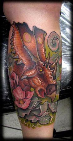 tattoo by  David Tevenal