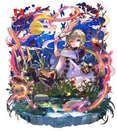 梅露可图鉴 Art Anime, Manga Art, Chibi Girl, Game Character Design, Cute Chibi, Manga Characters, Fantasy Girl, Anime Style, Beautiful Paintings