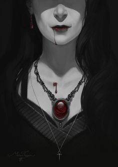 Here's a personal piece inspired by my time spent with Vampire the Masquerade and Requiem. Gothic Vampire, Vampire Girls, Vampire Art, Vampire Knight, Character Inspiration, Character Art, Character Design, Dark Fantasy Art, Fantasy Artwork