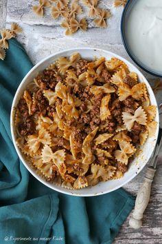 Falsche Manti   Rezept   Essen   Kochen   Pasta   Nudeln World Recipes, Apple Pie, Healthy Recipes, Breakfast, Pasta, Foodblogger, Desserts, Germany, Lunches