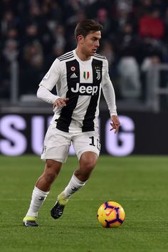 TURIN, ITALY - JANUARY Paulo Dybala of Juventus in action during the Serie A match between Juventus and Chievo at Allianz Stadium on January 2019 in Turin, Italy. (Photo by Tullio M. Juventus Wallpapers, Football Love, Ea Sports, Juventus Fc, Football Pictures, Soccer Games, Fifa, Action, Adidas