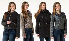 Groupon - Kensie Women's Jackets. Multiple Styles Available. in Online Deal. Groupon deal price: $27.99