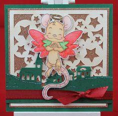Tinas kreative Seite - #20 von 24 Squares for Christmas