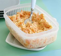 Get the kids cooking with this simple coleslaw - they'll be keen to eat it if they've helped out