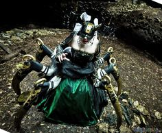 Calipso Cosplay as Mistress of Pain from Diablo III Diablo Cosplay, Mistress, Samurai, Bugs, Calypso Music, Beetles, Samurai Warrior, Insects
