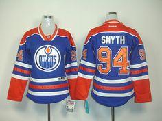 Edmonton Oilers 94 Ryan SMYTH Womens Home Jersey [Womens Hockey Jerseys 016] - $40.00 : Cheap Hockey Jerseys