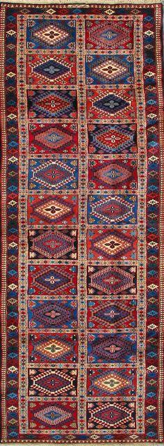 """Yalameh Persian Rug, Buy Handmade Yalameh Persian Rug 2' 9"""" x 13' 1"""", Authentic Persian Rug $1,521.50"""