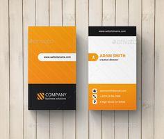 Creative Business Card Template #design Download: http://graphicriver.net/item/creative-business-card/10784968?ref=ksioks
