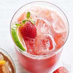 Rehydrate on a warm summer day with this easy blender mocktail that counts as a serving of fruit!