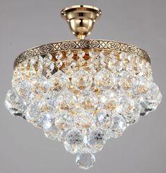 Diamant crystal Empire Kronleuchter Gala Gold Kristall -- Kronleuchter, Leuchten & Lampen EINFACH und GÜNSTIG online kaufen! Riesige Auswahl + 1A Kundenservice!