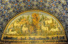 "Mausoleum of Galla Placidia - ""The exquisite Ravenna mosaics"" by @Kathryn Whiteside Burrington"