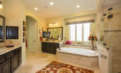 Village Builders Master Bath in Cypress Creek Lakes: Classic and Kingston Collections