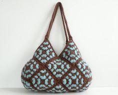 granny square bag love