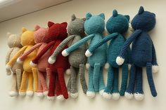 Ravelry: Project Gallery for Amineko Crocheted Cat pattern by Nekoyama