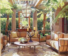 Spectacular outdoor coziness