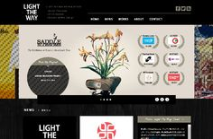 LIGHT THE WAY DESIGN OFFICE | Web Design Clip