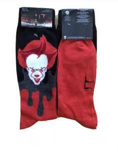 Life Is Too Short To Wear Boring Socks! Halloween Socks, Crazy Socks, Novelty Socks, Life Is Short, Horror, Gloves, Shorts, How To Wear, Fashion