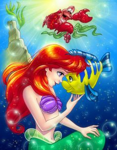My fav princess!!  Disney Club Coloring Book Challenge - Ariel by ~damned-selena on deviantART