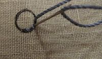 Baroque Embellishments: Spiral Trellis Stitch Instructions