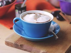 Antiinflammatorisk & Vegansk Pumpkin Spice Latte. Mmm va gott! Ett recept som är både vegansk, naturligt sötad med dadlar