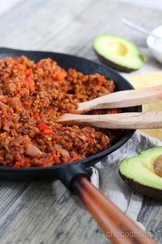 Vegan Tacos // chocochili.net
