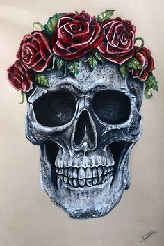 Skull'n'roses on Behance