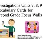 vocabulary cards for focus wall