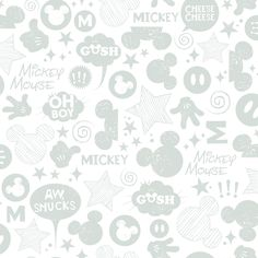 The RoomMates Disney Mickey Mouse Icons Peel & Stick Wallpaper is a fast and affordable way to update your living space. This peel-and-stick wallpaper is easy to install and remove, and it features a magical design themed around Mickey Mouse. Disney Mickey Mouse, Walt Disney Kids, Cute Disney, Disney Diy, Mickey Mouse Wallpaper, Disney Wallpaper, Wallpaper Roll, Peel And Stick Wallpaper, Friends Wallpaper