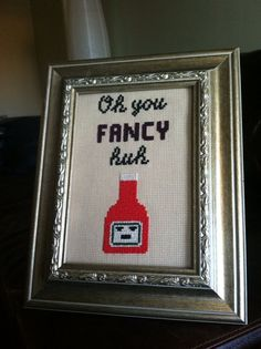 10 Hip-Hop Cross Stitches On Etsy