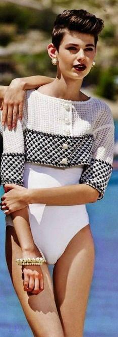 Chanel ~ Vintage Swimsuit