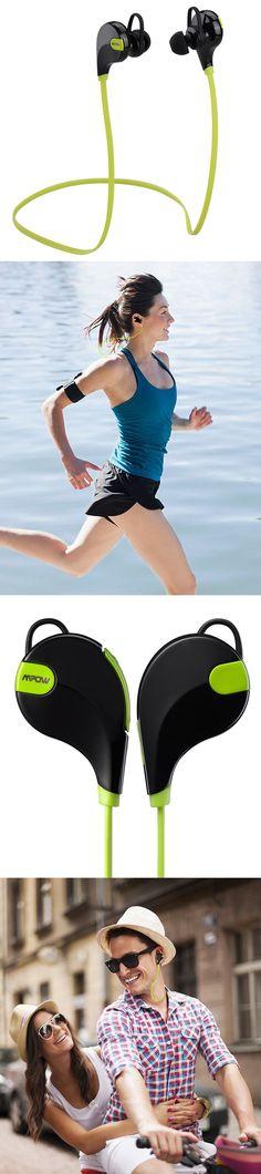 Mpow Wireless Sport Headphones: My new favorite running accessory!  - www.MyWonderList.com